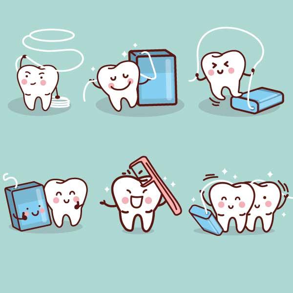 Strumenti per una corretta pulizia dentale